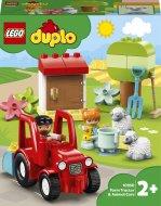 10950 LEGO® DUPLO® Town Ūkio traktorius ir gyvūnų priežiūra 10950