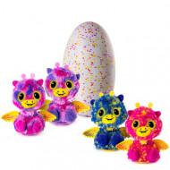 HATCHIMALS rožinis/baltas kiaušinis su dviem gyvūnėliais, asort., 6037097/ 6041889 6037097/ 6041889