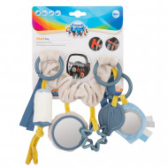 CANPOL BABIES pakabinamas žaislas vežimėliui/kėdutei Pastel Friends, 68/072_grey 68/072_grey