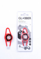 GLOBBER lemputė Light led red, 522-102 522-102
