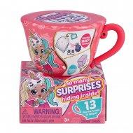 ITTY BITTY PRETTYS kolekcinis figūrėlės rinkinys Tea Cup, 1 serija,  asort., 9701UQ1 9701UQ1