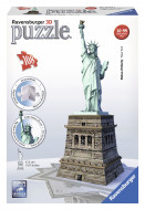 RAVENSBURGER 3D dėlionė Statue of Liberty 108 vnt, 12584 12584