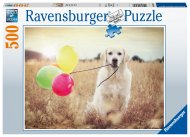 RAVENSBURGER dėlionė Happy Retriever, 500d., 16585 16585