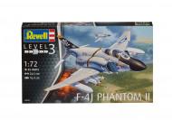 REVELL modelis F-4J Phantom II 1:72, 3941 3941