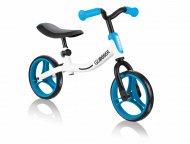 GLOBBER balansinis dviratis Go Bike, balta/mėlyna, 610-160 610-160