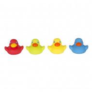 PLAYGRO pilnai uždari vonios žaislai Bright Baby Duckies, 0187480 0187480