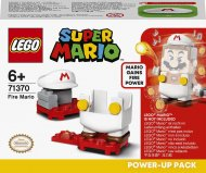 71370 LEGO® Super Mario™ Ugninio Mario galios paketas 71370