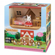 SYLVANIAN FAMILIES COSY COTTAGE STARTER HOME WITH ACCESSORIES, 5303 5303