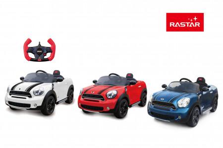 RASTAR elektromobilis Mini Countryman Ride 2.4G, asort., 82800 82800