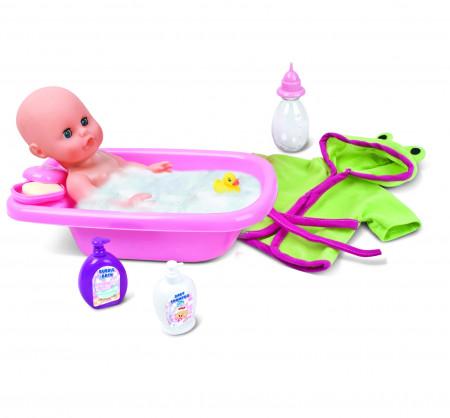 BAMBOLINA lėlė su vonios rinkiniu Amore, 30cm, BD1839 BD1839