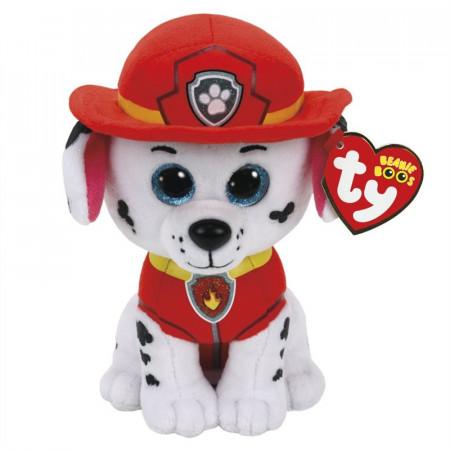 TY PAW PATROL pliušinis šuo dalmantinas MARSHAL 15cm, TY41211