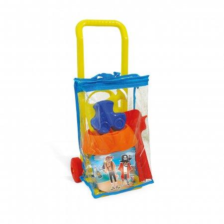 ADRIATIC krepšys su ratukais ir smėlio rinkiniu Pirates, diam. 18 cm, 906 906