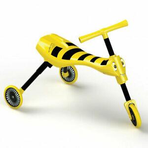 MOOKIE mašinėlė-paspirtukas Scuttlebug Bumble geltonas, 8541 8541