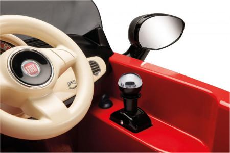 PEG PEREGO elektromobilis  FIAT 500 RED, IGED1171 ED1161