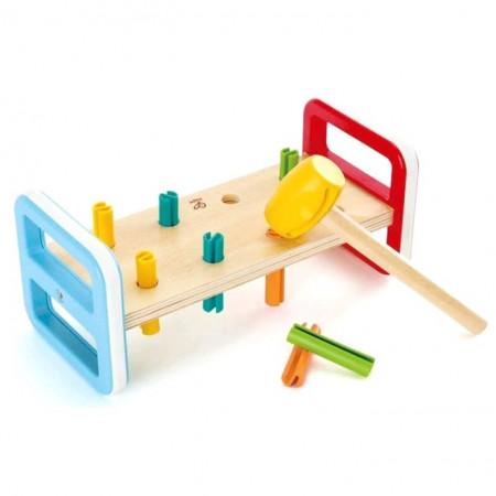 HAPE Lavinanamis žaislas Spalvingas grūstuvėlis, E0506B E0506B