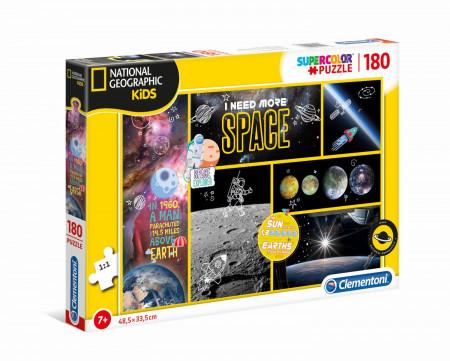 CLEMENTONI National Geographic Kids dėlionė Visata 180pcs., 29206 29206