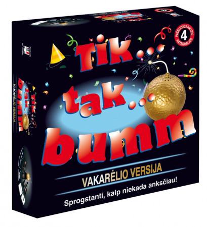 """PIATNIK žaidimas """"Tik-tak bumm party"""" (LT), 722998 722998"""