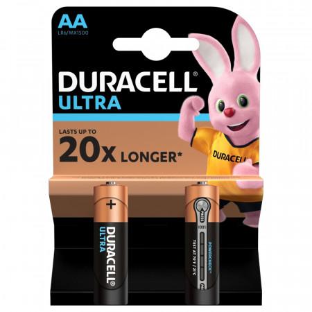 DURACELL baterijos Ultra AA, 2 vnt., DURM089 DURM089