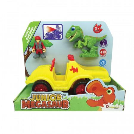 MEGASAUR JUNIOR dinozauro figūrėlės rinkinys su sukvežimiu, 16940 16940