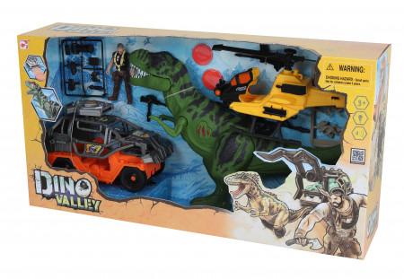 CHAP MEI rinkinys Dino Valley T-Rex Revenge Playset, 542090 542090
