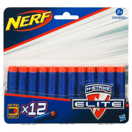 NERF šoviniai N-STRIKE ELITE 12 vnt, A0350EU4 A0350EU4