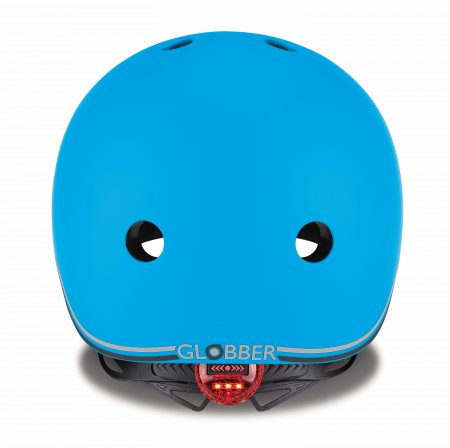 GLOBBER šalmas Go Up Lights, XXS/XS ( 45-51cm), mėlyna, 506-101 506-101