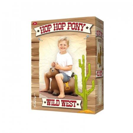 JOHN pripučiamas šokliukas ponis Hop Hop Wild West, 60x52, 59028 59028