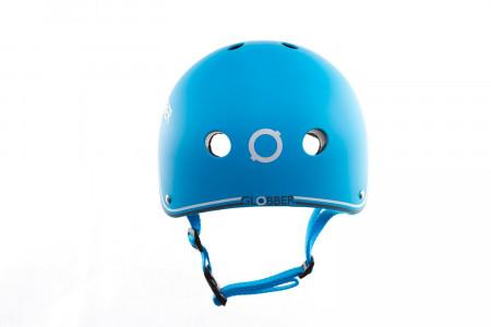 GLOBBER šalmas junior blue (51-54CM), 500-101 500-101