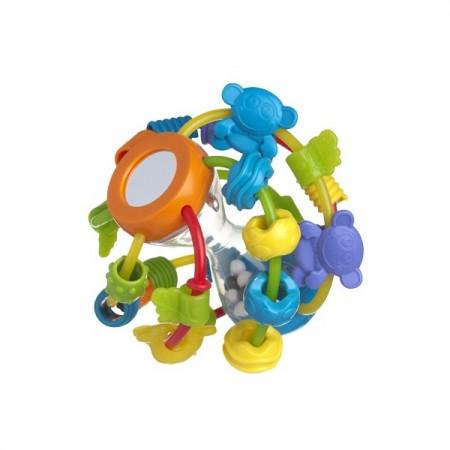 PLAYGRO lavinamasis kamuolys-barškutis Žaisk ir mokykis, 4082679 4082679