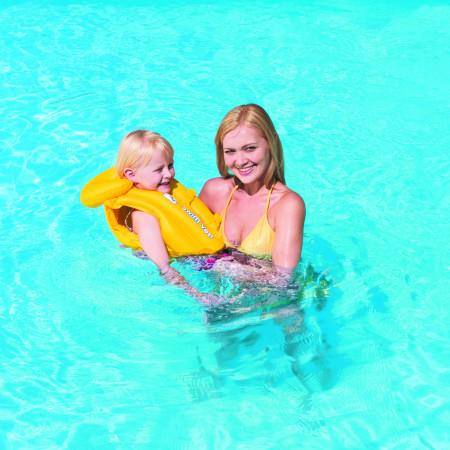 BESTWAY plaukimo liemenė Swim Safe Step B 51x46cm 32034 32034