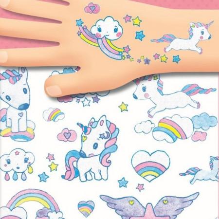 DJECO Body Art tatuiruotės Vienaragiai, DJ09575 DJ09575