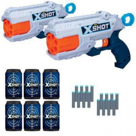 XSHOT žaislinių šautuvų rinkinys Reflex, 36225/36434 36225