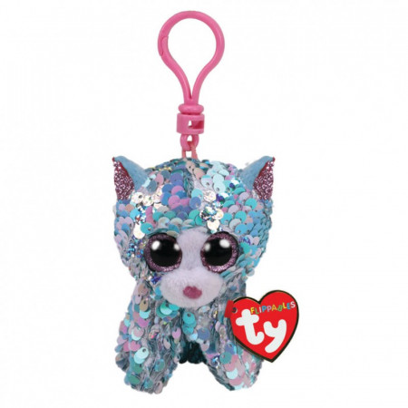 TY Beanie Boos Flippable pakabukas katė mėlyna WHIMSY, TY35308